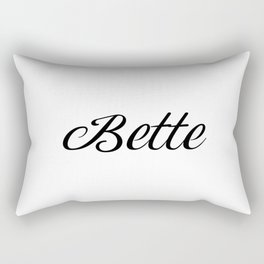 Name Bette Rectangular Pillow