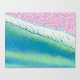 MOONMAN X BIGWAVE 2.3 Canvas Print