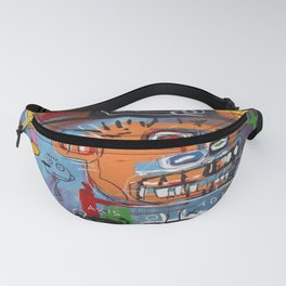 Basquiat Intelligent Fanny Pack