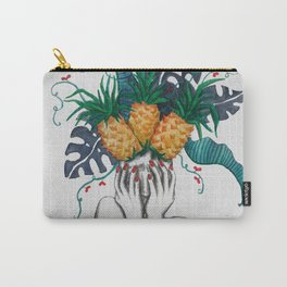 Pineapples are in my head Carry-All Pouch