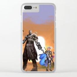 Vox Machina Clear iPhone Case