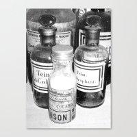 cocaine Canvas Prints featuring Cocaine  by Emmanuelle Clouzet