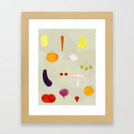 Fruit Medley Framed Art Print