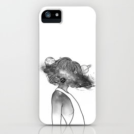 Into the universe. iPhone Case