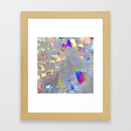 Angel Aura Framed Art Print