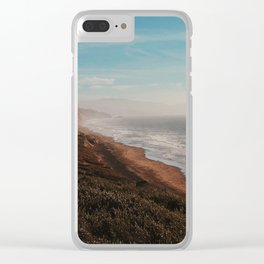 Fort Funston Park in San Francisco, California Clear iPhone Case