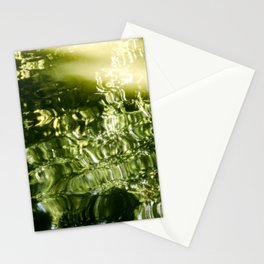 Reflecting Greens Stationery Cards