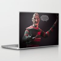 freddy krueger Laptop & iPad Skins featuring Freddy Welcomes You 2 My Society6 Page... by TJAguilar Photos