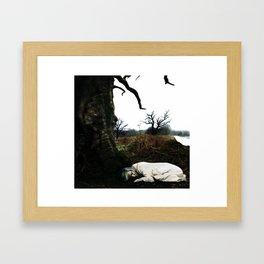Ms. VanWinkle Framed Art Print