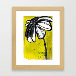In Your Face Framed Art Print