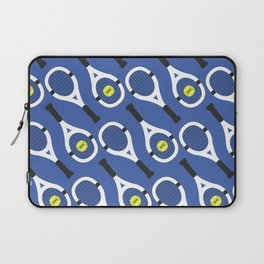 Tennis Pattern (Blue/White) Laptop Sleeve