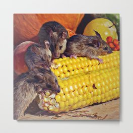 All you can eat Metal Print