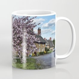 Ashby St Ledgers thatched cottages Coffee Mug