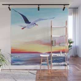 SEAGULL       by Kay Lipton Wall Mural