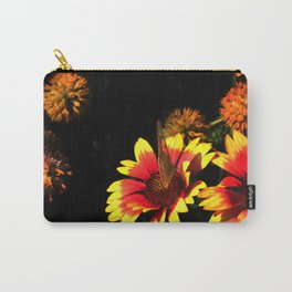 Flowers & Butterfly Carry-All Pouch
