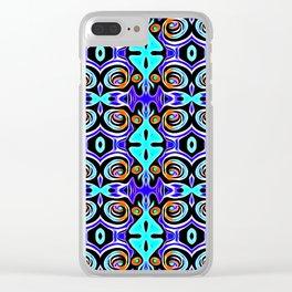 Art ~ Colours That Pop Clear iPhone Case
