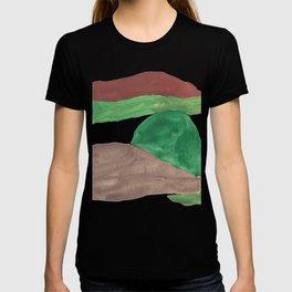 13     Mountain Watercolour Painting    190402 T-shirt