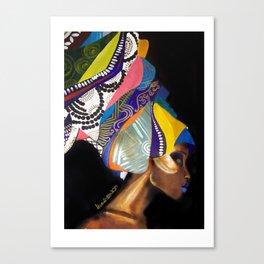 Goddess Zambezi Canvas Print