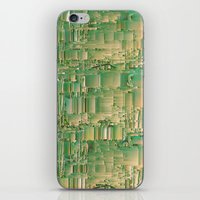 bar iPhone & iPod Skins featuring Energy bar by Okti