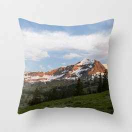 Sunrise Hike in Crested Butte, Colorado Throw Pillow