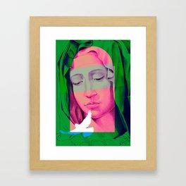 Mary 01 Framed Art Print