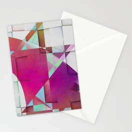 Multicolored abstract no. 64 Stationery Cards