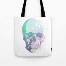 Music Skull Tote Bag