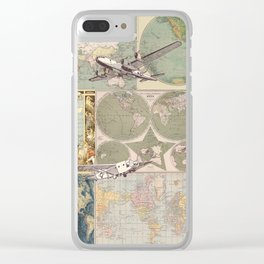 Flight Patterns Clear iPhone Case