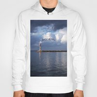 breathe Hoodies featuring breathe by gzm_guvenc