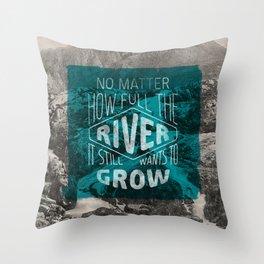 It still wants to grow Throw Pillow