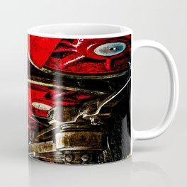 Vintage Steam Engine Locomotive - The Wheels Coffee Mug
