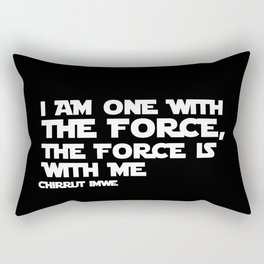 the force is with me Rectangular Pillow