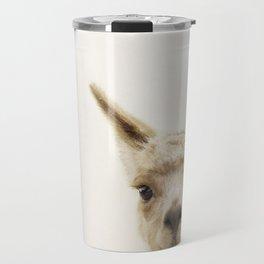 Alpaca Portrait Travel Mug