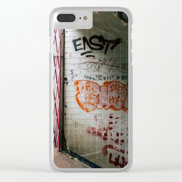 Enter the Subway Clear iPhone Case