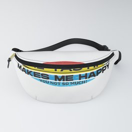 Wine tasting Makes Me Happy You Not So Much  Funny Hobbie Gift Fanny Pack