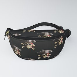 The Jolly Roger Pirate Skull Pattern Fanny Pack