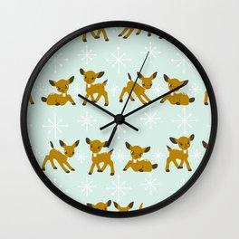 Where's Rudolph? Wall Clock
