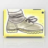 shoe iPad Cases featuring shoe by yayanastasia