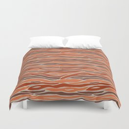 Orange desert Duvet Cover