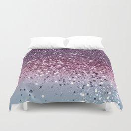 Unicorn Girls Glitter #6 #shiny #pastel #decor #art #society6 Duvet Cover