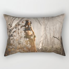 Forest's spirit Rectangular Pillow