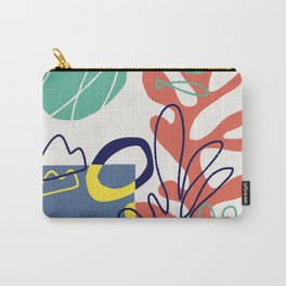 Under the sea coral abstract Carry-All Pouch
