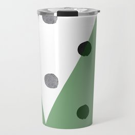 Christmas mountains Travel Mug