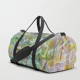Raining Flowers Duffle Bag