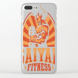 Z Fitness Clear iPhone Case