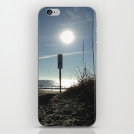 Sun shadows iPhone Skin