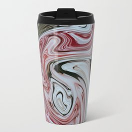 Rose Swirl Travel Mug