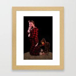 Coppertoning a Feel Framed Art Print