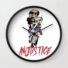 INJUSTICE Wall Clock