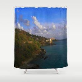 ISLAND DREAMS Shower Curtain